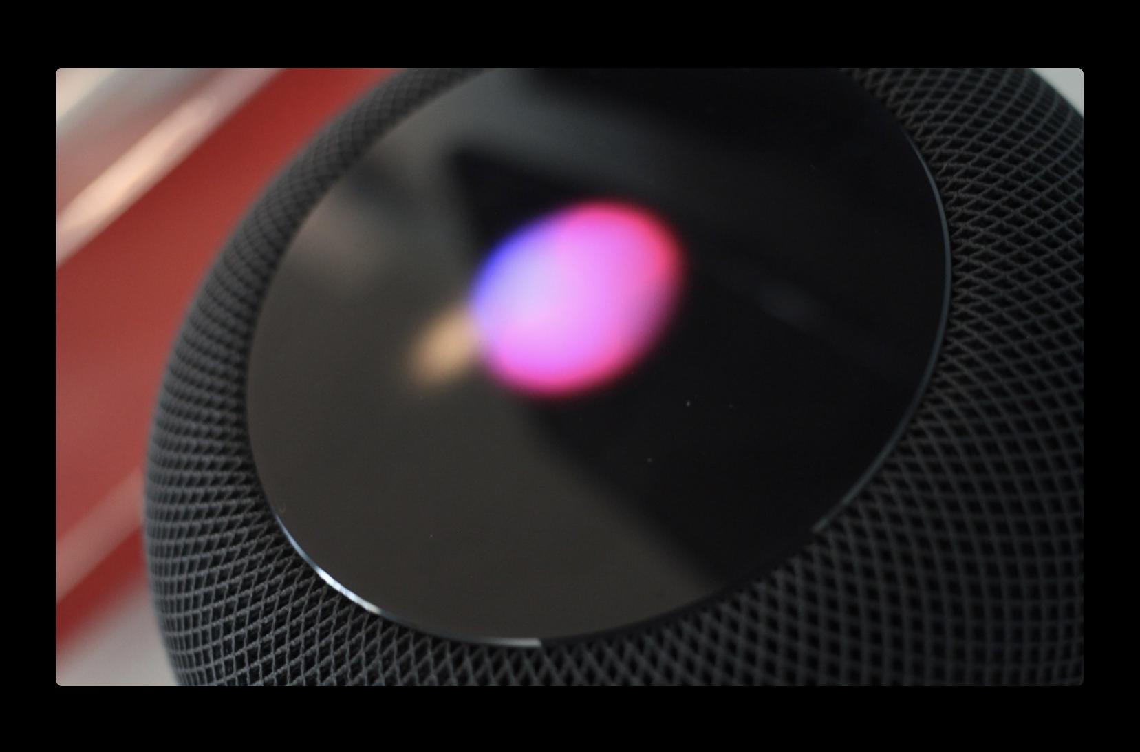 Apple、HomePodをセットアップする時iOS 13では上部のLEDパターンをスキャンする必要がある