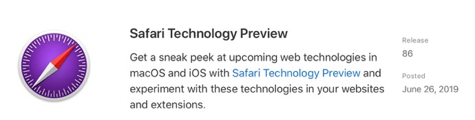 Safari Technology Preview 86 00001 z