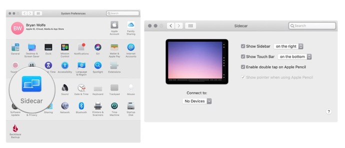 Sidecar mac ipad 00001 z