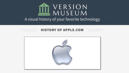 Appleの22年間のWebサイトのデザインの歴史を可視化