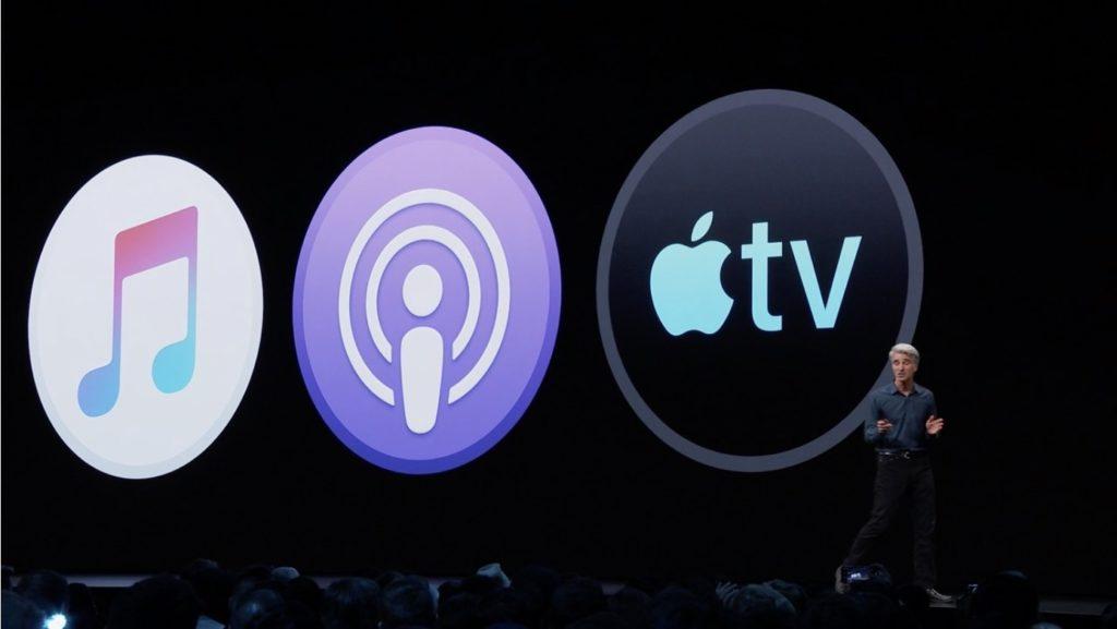 macOS Catalinaでは、iTunesの分割によりメディアファイルの扱いに変更が