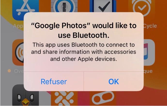 iOS 13では、アプリケーションから場所を追跡できなくなる