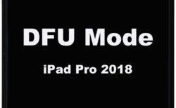 iPad Pro 2018以降でDFUモードにする方法