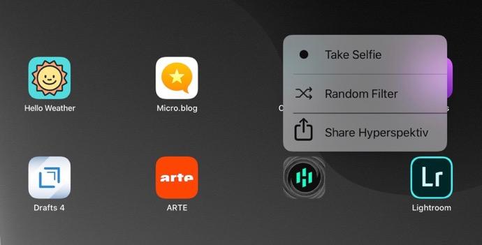 IPadOS 3D Touch menu 00005 z