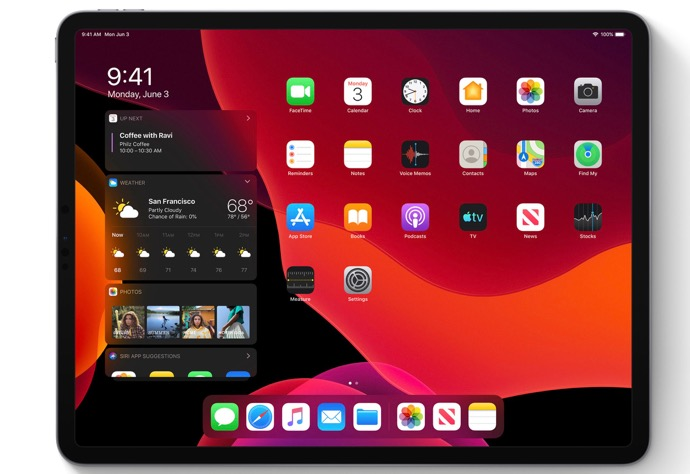 Apple、「iPadOS 13 Developer beta  2 (17A5508m)」を開発者にリリース