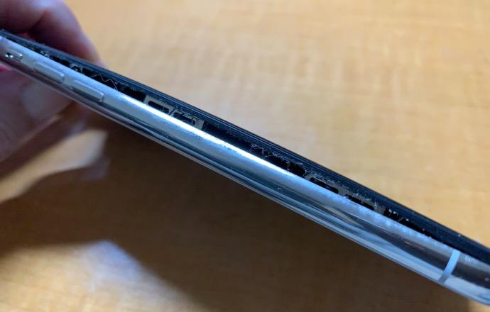 iPhone Xのバッテリが膨張したのでGenius Barへ、手元に戻るのは1〜2週間後