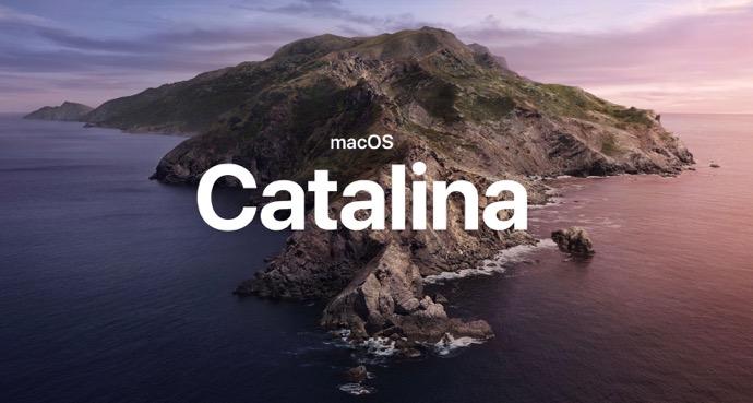新しいmacOS 10.15 Catalinaの壁紙が公開される