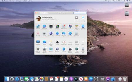 macOS 10.15 Catalina、システム環境設定の新しいApple IDアカウントの管理
