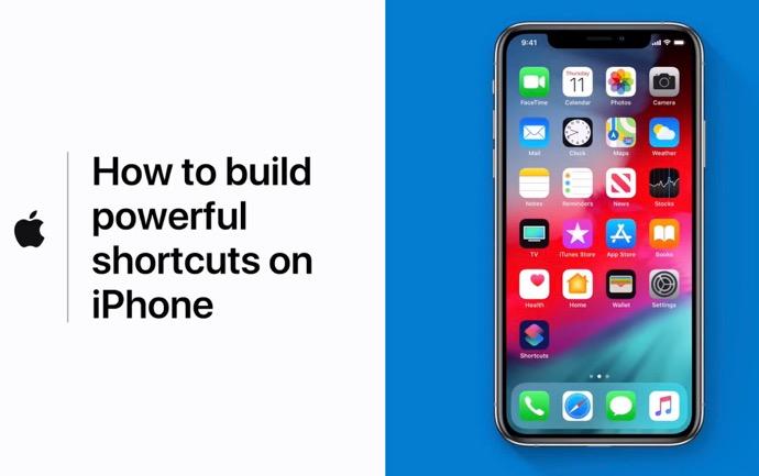 Apple Support、「iOSデバイスで強力なショートカットを作成する方法」のハウツービデオを公開