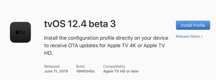 TvOS 12 4 beta 3 00001
