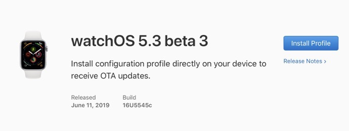 WatchOS 5 3 beta 3 00001