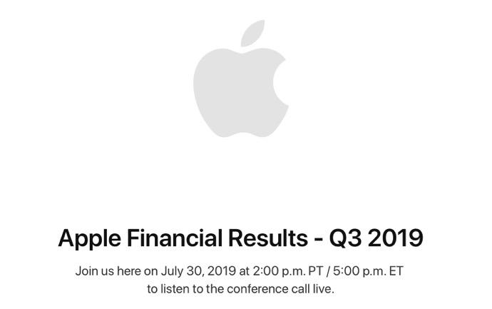 Apple Financial Results  Q3 2019 00001 z