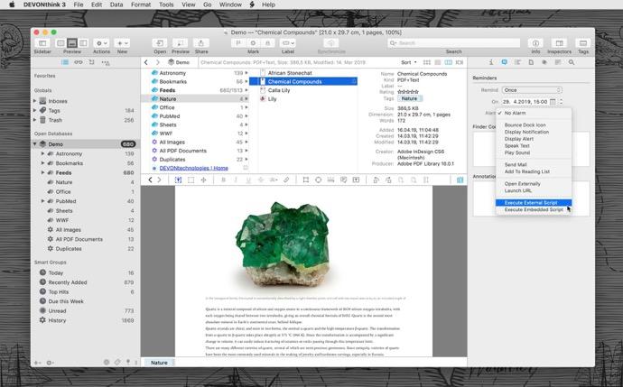 【Mac】文書および情報管理ソリューション「DEVONthink 3.0 Public Beta 4」をリリース