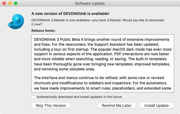 DEVONthink 3 0 Public Beta 4 00002 z