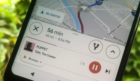 iPhoneでGoogleマップのナビゲーションにApple Music、Spotify の再生コントロールを追加する方法