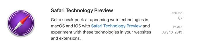 Safari Technology Preview 87 00001 z