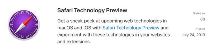 Safari Technology Preview88 00001 z