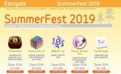 【Sale情報/Mac】SummerFest 2019で「TextExpander」「PDFpen」などなど人気15アプリが20〜30%オフ