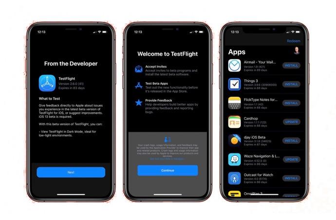 Apple、「TestFlight 2.6 beta 2」を開発者にリリース