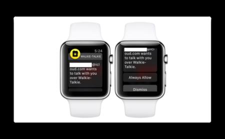 Apple、iPhoneの盗聴を可能にする可能性があるためWalkie Talkieアプリを無効に