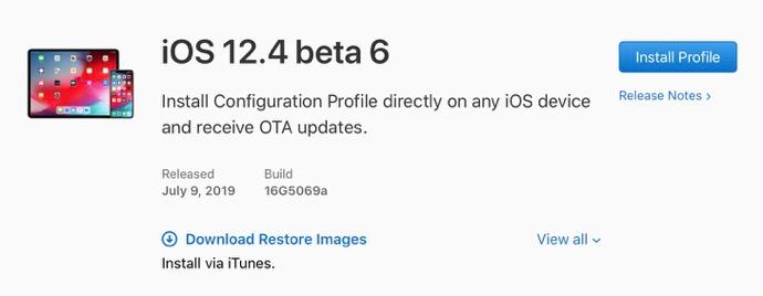 IOS 12 4 beta 6 00001 z