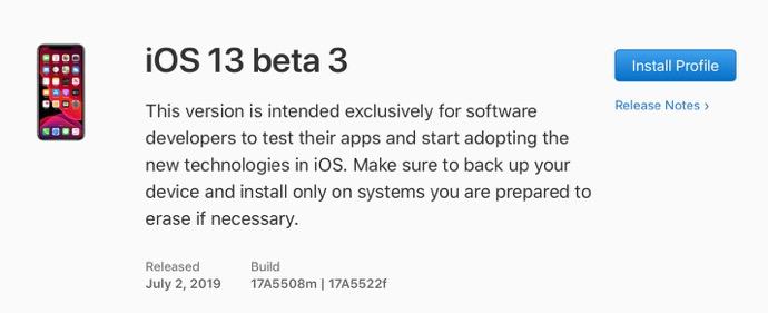IOS 13 beta 3 00001 z