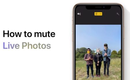 Apple Support、「Live Photoをミュートする方法」のハウツービデオを公開