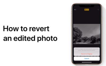 Apple Support、iPhoneまたはiPadで編集した写真を元の写真に戻す方法のハウツービデオを公開