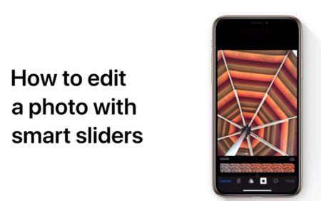 Apple Support、「スマートスライダを使って写真を編集する方法」のハウツービデオを公開