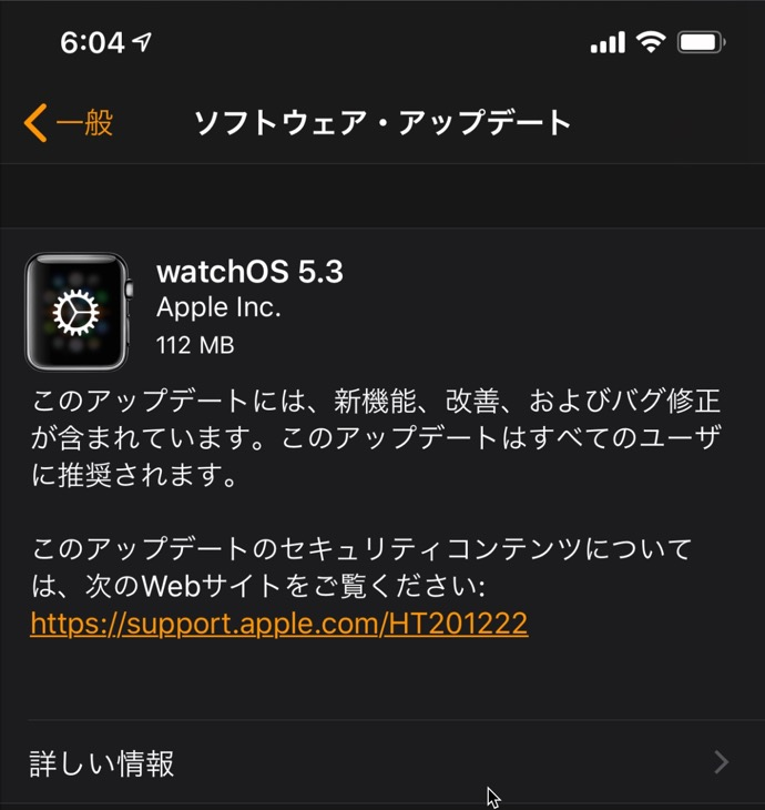 WatchOS 5 3 00001 z