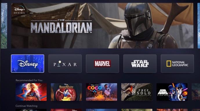 「Disney +」は、App Storeでのアプリ内購入などで11月12日にリリース