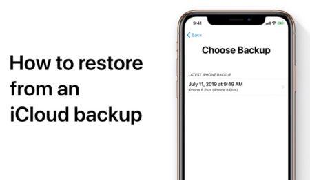 Apple Support、iOSデバイスをiCloudにバックアップし復元する方法のハウツービデオを公開