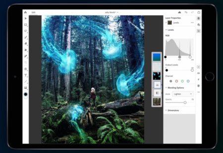 Photoshop for IPad、公開リリースに先立ってベータテストを開始