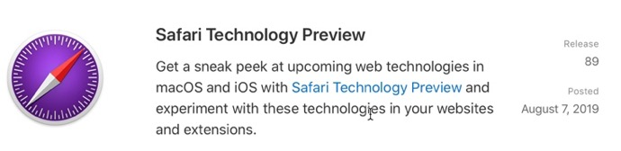 Safari Technology Preview 89 00001 z