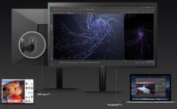 LG UltraFine 5K Displayは、iPad Pro 2018で使用した場合は4K解像度に限定