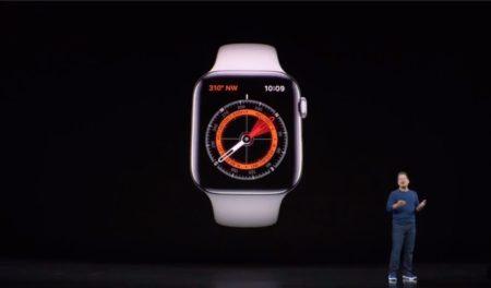 磁石付きのApple WatchバンドがApple Watch Series 5のコンパスと干渉する可能性が