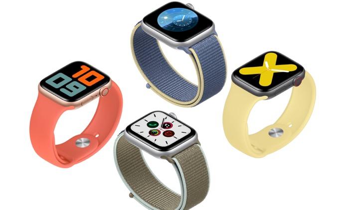 Apple Watch Series 5に搭載されているS5チップは、Apple Watch Series 4のS4と同じ