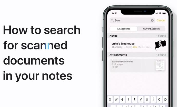 Apple Support、「メモでのスキャンした文書のテキスト検索方法」「iPhone 11および11 Proでのカメラの使用方法」のハウツービデオ2本を公開