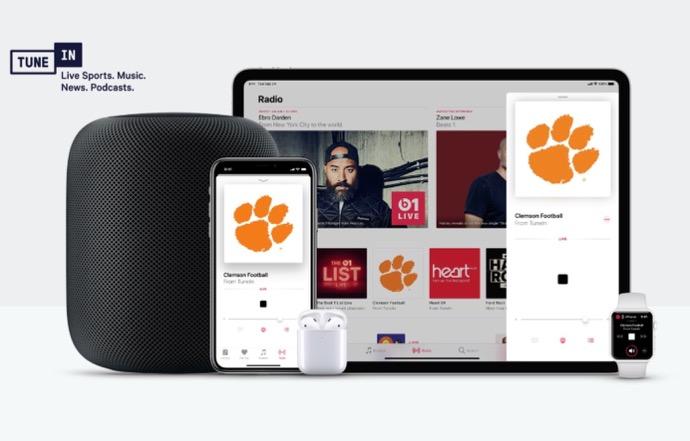 TuneIn、Appleと提携でApple MusicおよびSiri対応デバイスからTuneInの100,000を越えるラジオ局が利用可能に