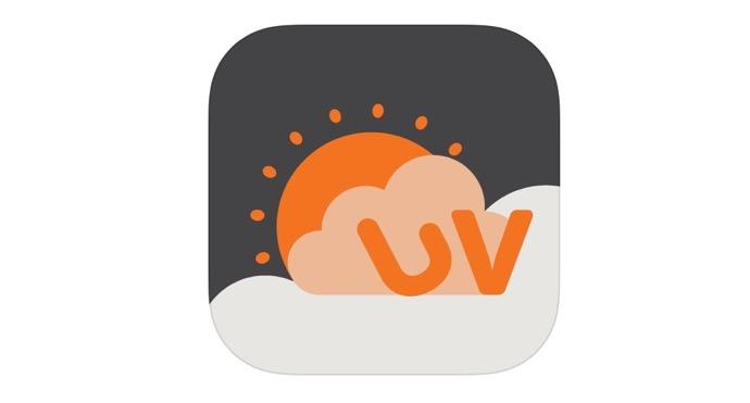 iOSアプリ「UVLens」では、不適切な通知が送信される