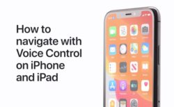 Apple Support、ボイスコントロールなどのハウツービデオ5本を公開