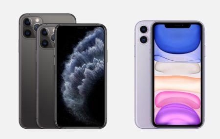 iPhone 11、iPhone 11 Proのベンチマークで、すべてのモデルで4GBのRAMを明らかに