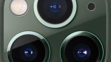 iPhone 11モデルの超広角カメラは固定焦点で、Rawキャプチャをサポートしていない