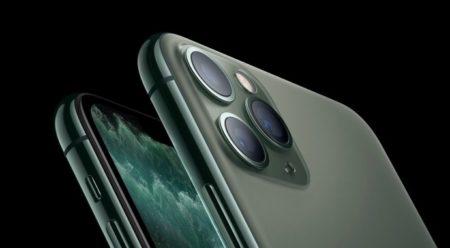 iPhone 11のカメラのナイトモードを、最初の実際での生活の中でのテスト画像