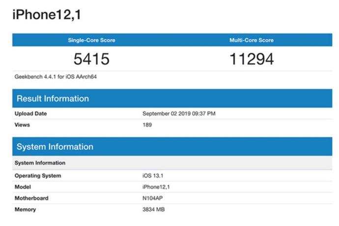 IPhone XR update 00001 z