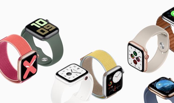 watchOS 6 GM は、Apple Watch シリーズ 5 で紹介された新しい文字盤が含まれている