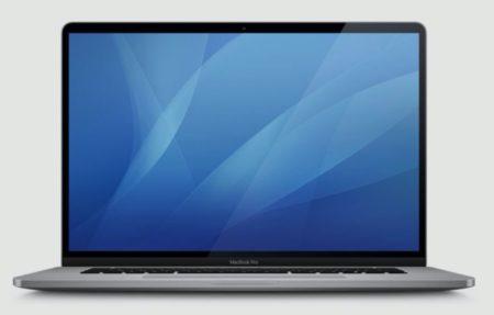 macOS Catalina 10.15.1 betaに16インチMacBook Proのアイコンが含まれる