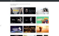 Apple、これからのApple TV+サービスのプレスサイトを開設