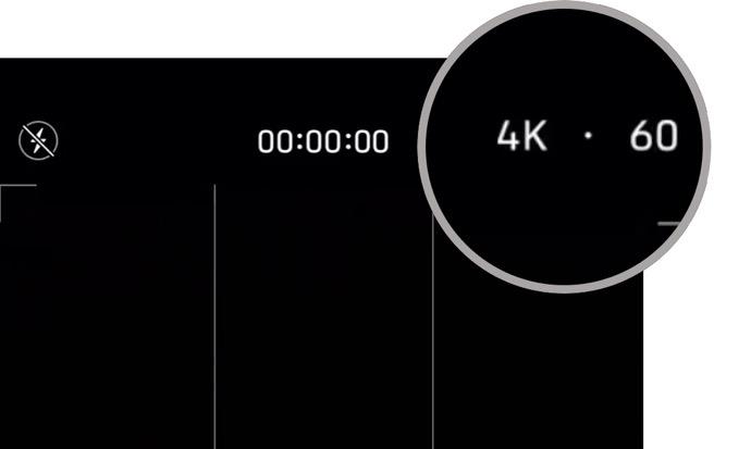 iPhone 11シリーズは、カメラアプリに組み込みのビデオコントロールを搭載