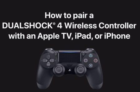 Apple Support、XboxとDUALSHOCK 4ワイヤレスコントローラーをApple TV、iPad、またはiPhoneとペアリングする方法のハウツービデオを公開